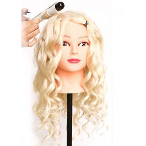 Human Hair Dummy Head