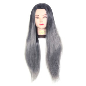 31 inch Synthetic Hair Dummy Head