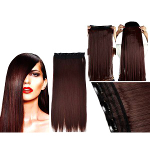 Remi Dark Auburn Human Hair Extension
