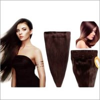16 To 32 Inch Dark Brown Remi Human Hair Extension
