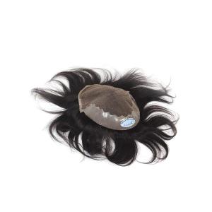 Mens Human Hair Toupee