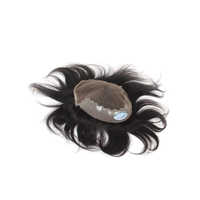 Mens Human Hair Toupee