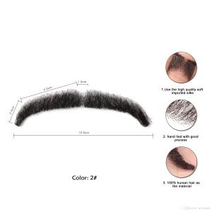 Human Hair Mustache