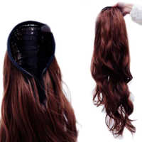 Wavy Half Head Hair Extension Band