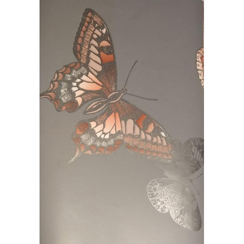 Decorative Butterfly Wallpaper