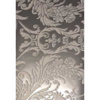 Decorative Golden Arabesque Wallpaper