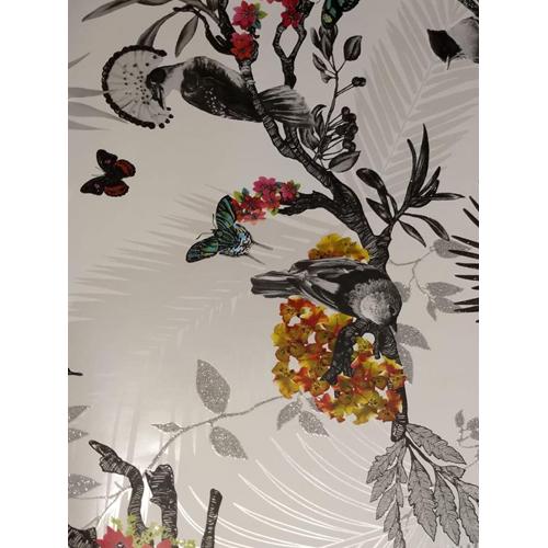 Designer Flower Wallpaper