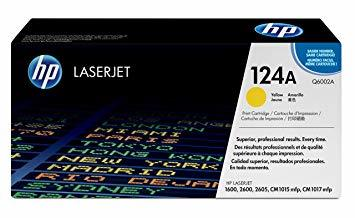 HP Q6002 YELLOW TONER CARTRIDGE