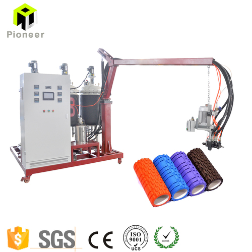PU Low Pressure Foaming Machine for Muscle Relax Yoga Roller
