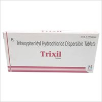 Trihexyphenidyl Hydrochloride Dispersible Tablets