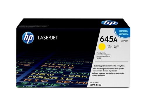 HP C9732 YELLOW TONER CARTRIDGE