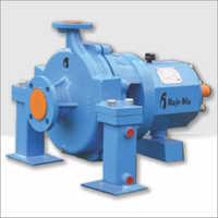 Centreline mounted pump