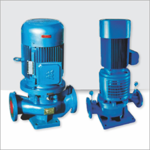 VERTICAL IN LINE SELF PRIMING PUMP