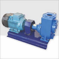 HORIZONTAL SELF PRIMING NON CLOG PUMP