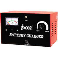 Electronic digital battery charger