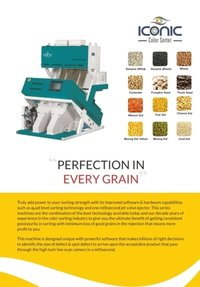 Seeds Color Sorter machine