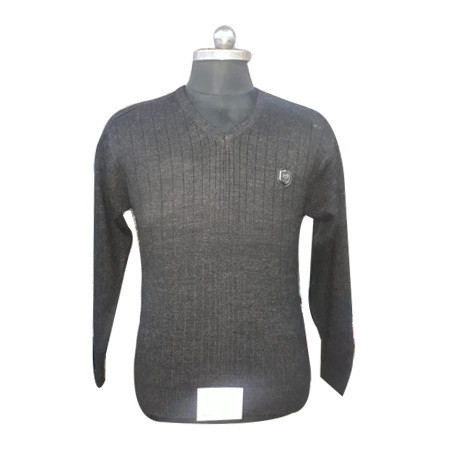 Men's Plain Gray Sweatshirt