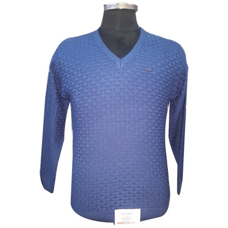 Men's Blue Sweatshirt