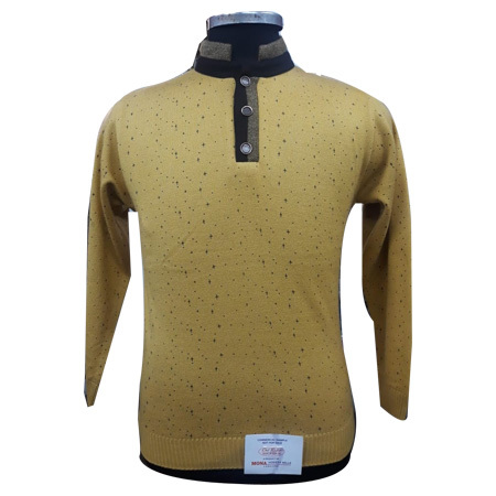 Men's Mock Neck Pullover