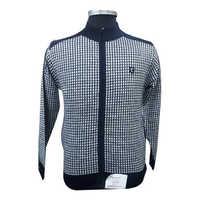 Men's Woolen Zip Pullover