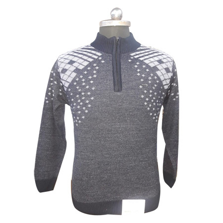 Men's Designer Zip Pullover