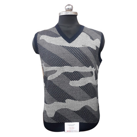 Men's V Neck Sleeveless Sweater