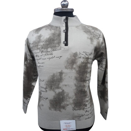 Men's Printed Pullover