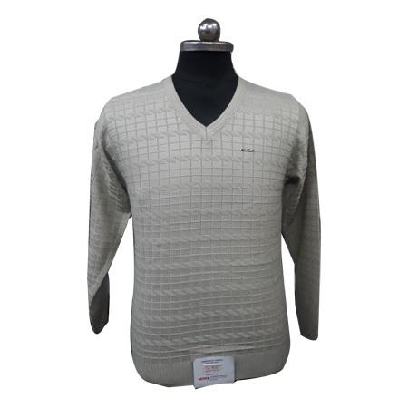 Men's V Neck Plain Sweatshirt
