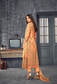 Aaditri Hand Block Printed Suits