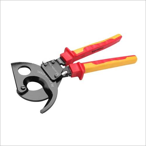 VDE 1000V Insulated Ratcheting Cable Cutter