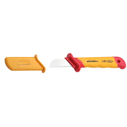 VDE 1000V Insulated Cable Knife (Straight)