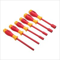 VDE 1000V Insulated Nut Screwdriver