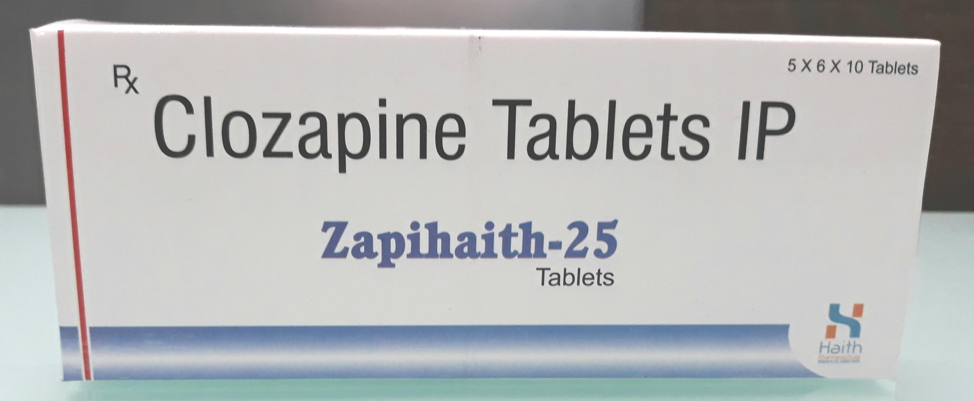 Clozapine Tablet