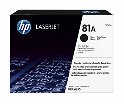 HP CF281 BLACK TONER CARTRIDGE