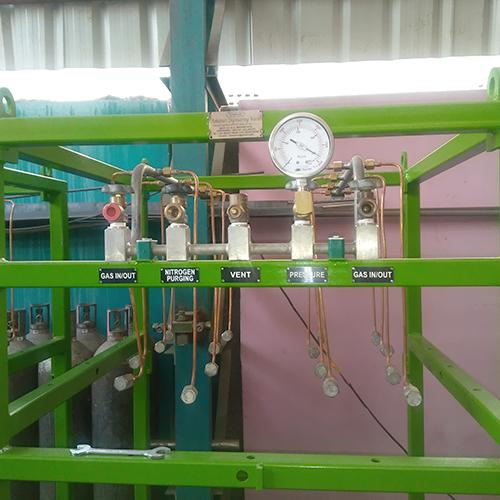 Cylinder gas Skids