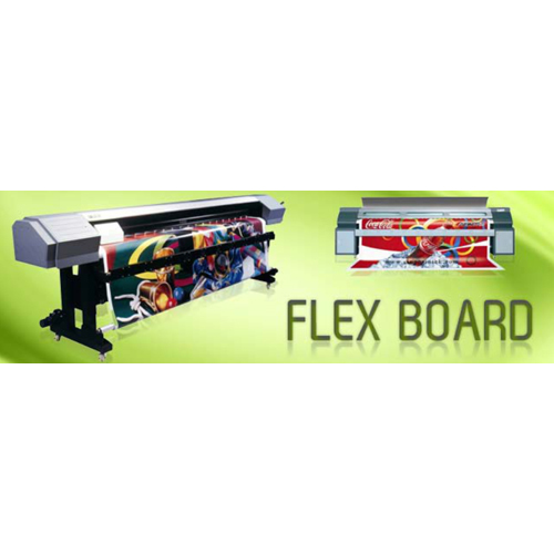 Flex advertising board