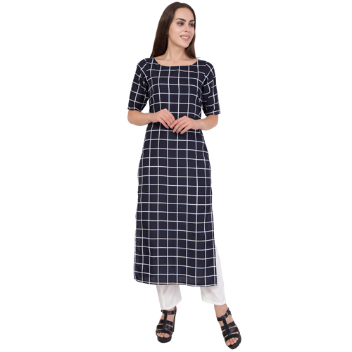 Ladies Checks Kurti