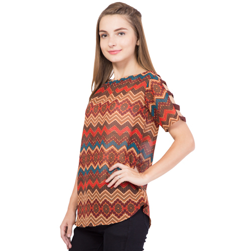Ladies Ethnic Strap Top