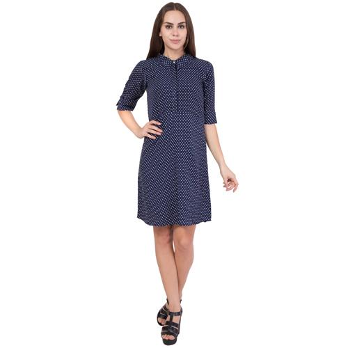 Ladies Polka Dot Print Dress