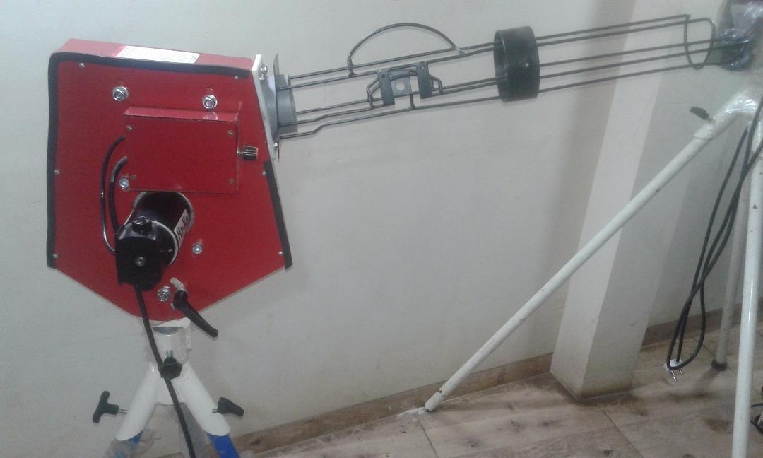 KD  Tiger 3 Jr Straight Cricket Bowling Machine