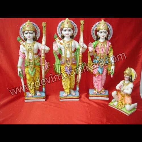 Marble Ram Darbaar Moorti