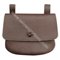 Medieval Leather Belt Pouch