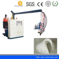 Low Pressure PU Polyurethane Making Cutting Machine for Foam Shoulder Pad