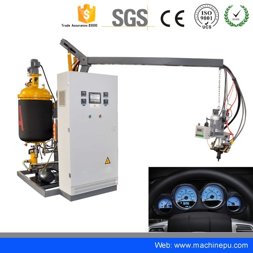 Low Pressure PU Polyurethane Car Instrument Panels Making Machine