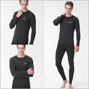 Mens Black Thermal Inner Suit