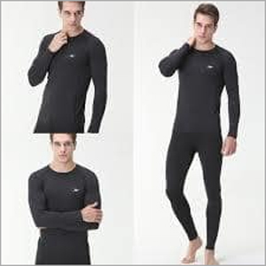 Mens Black Thermal Inner Suit