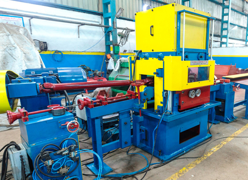Vertical Two Roll Straightening Machine