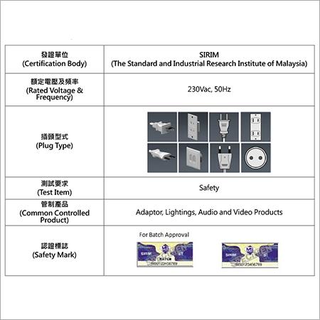 SIRIM Certification in Malaysia