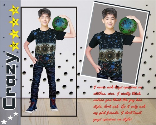 Printed Kids T Shirt