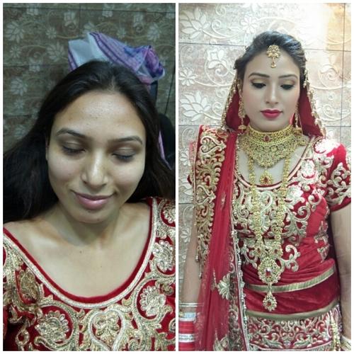 Pre Wedding Bridal Makeup Services